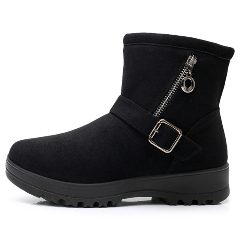Snow Winter Women Boots Warm Plush Casual Shoes