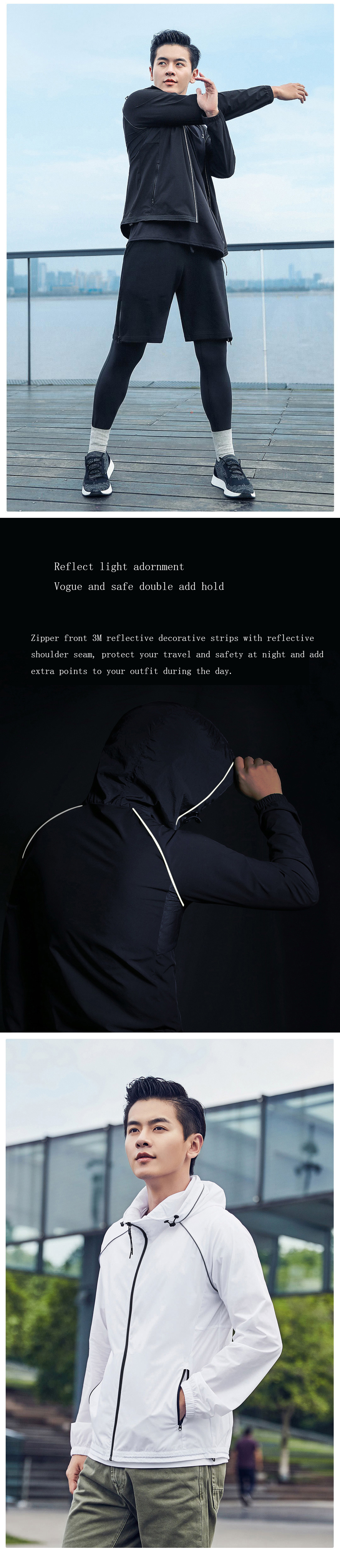 XIAOMI ULEEMARK Summer Sun Protection Men Quick Drying Anti-UV Lightweight Sun proof Clothing Coats