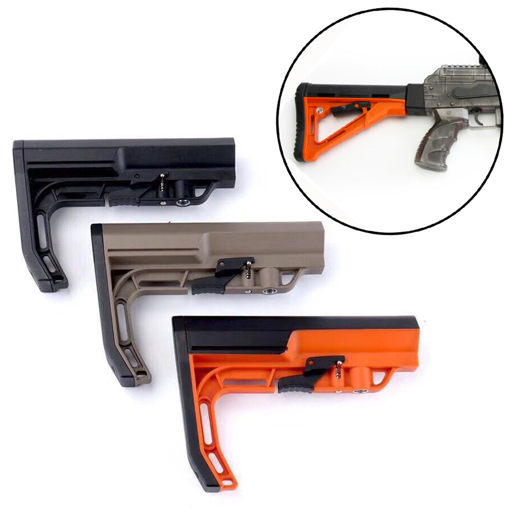 Nylon MFT Buttstock Without Core For STD AKV2 And JinMing M4A1 Gel Ball Blasting Toys Accessories