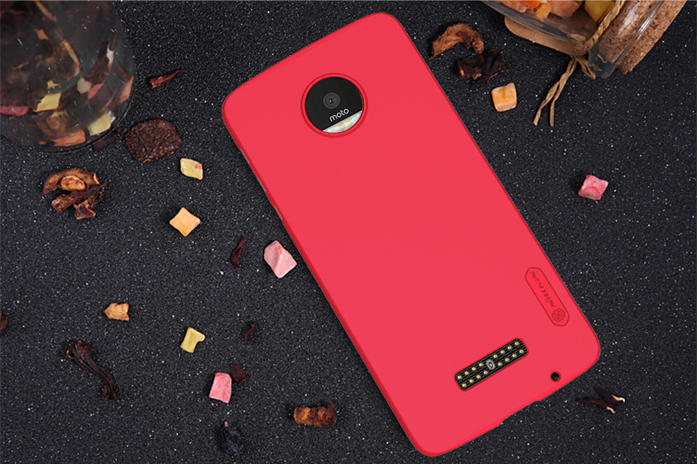 NILLKIN Frosted Shockproof Hard PC Protective Case For Lenovo Moto Z