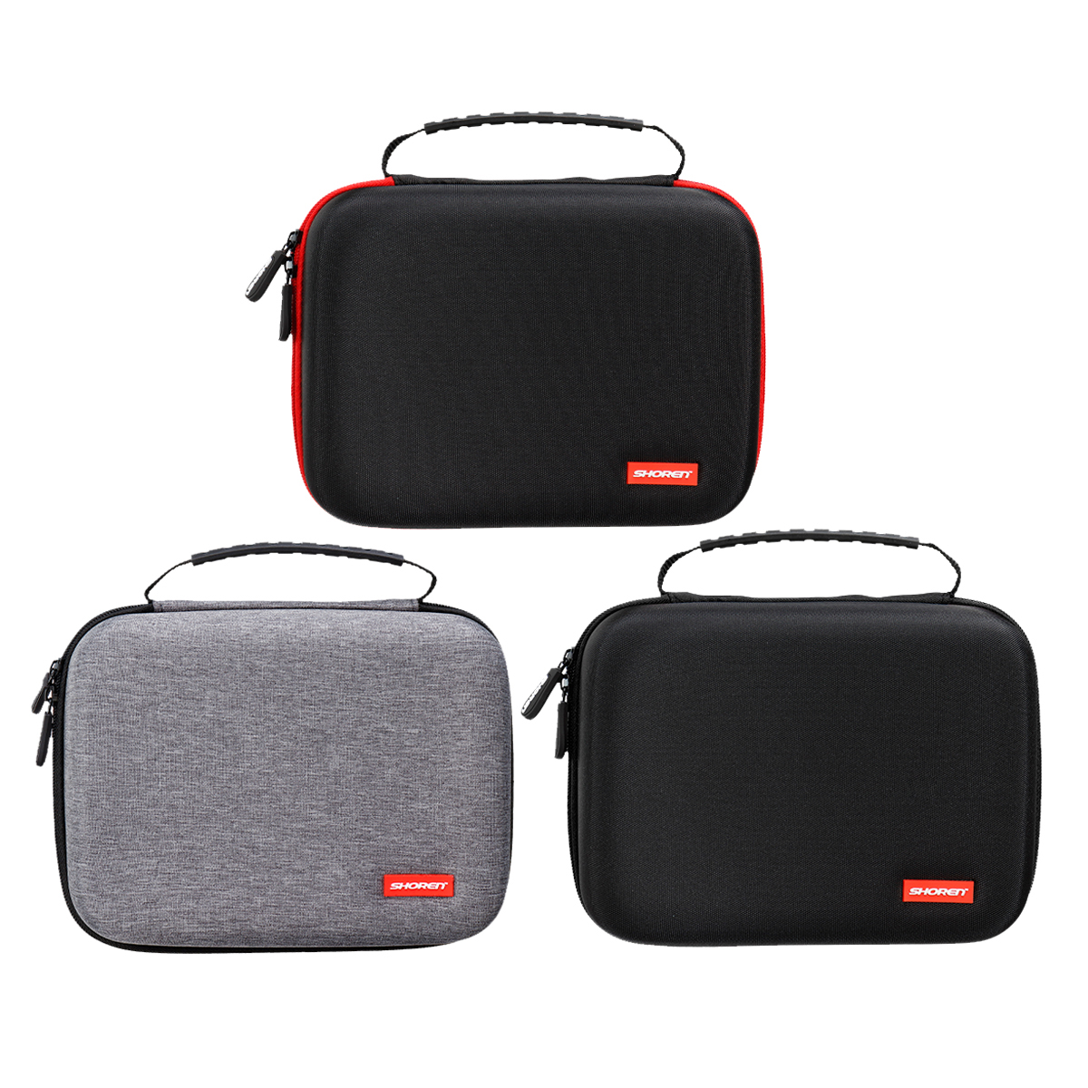Portable Hard EVA Case Carry Storage Box + 2 x Connector For Oculus Go VR Headset for Game Console