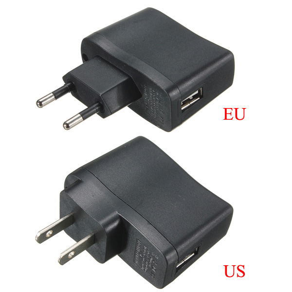 EU-US USB AC Power Supply Adapter Charger Adapter