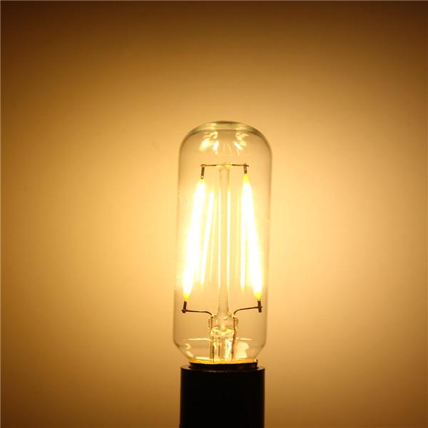 E14 T25 3W Incandescent Edison Retro Vintage Candle Light Lamp Warm White/White Bulb 220V