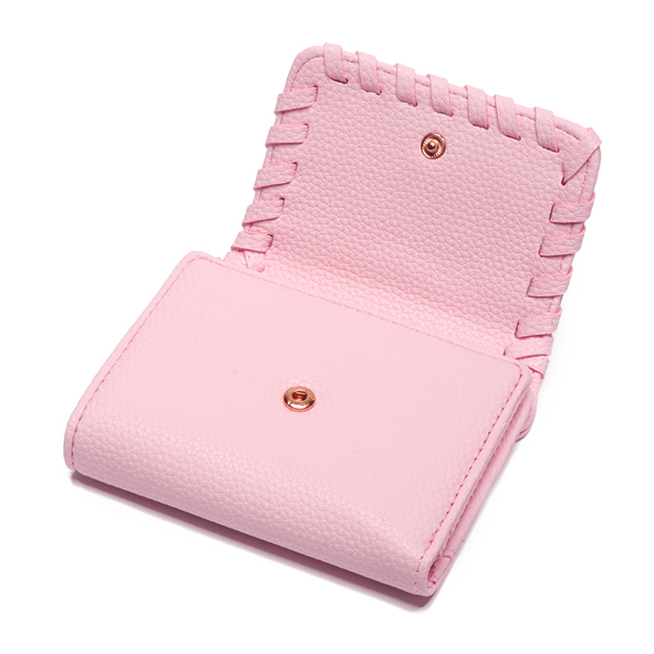 Women 8 Card Slots Photo Holder Large Capacity Wallet