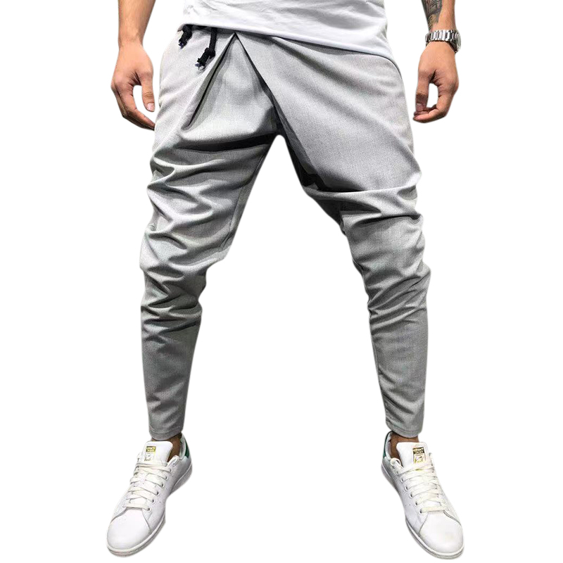 Casual Street Style Drawstring Harem Pants