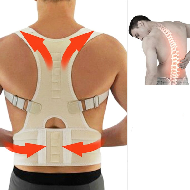 Posture Corrector Hunchbacked Magnetic Lumbar Back Support