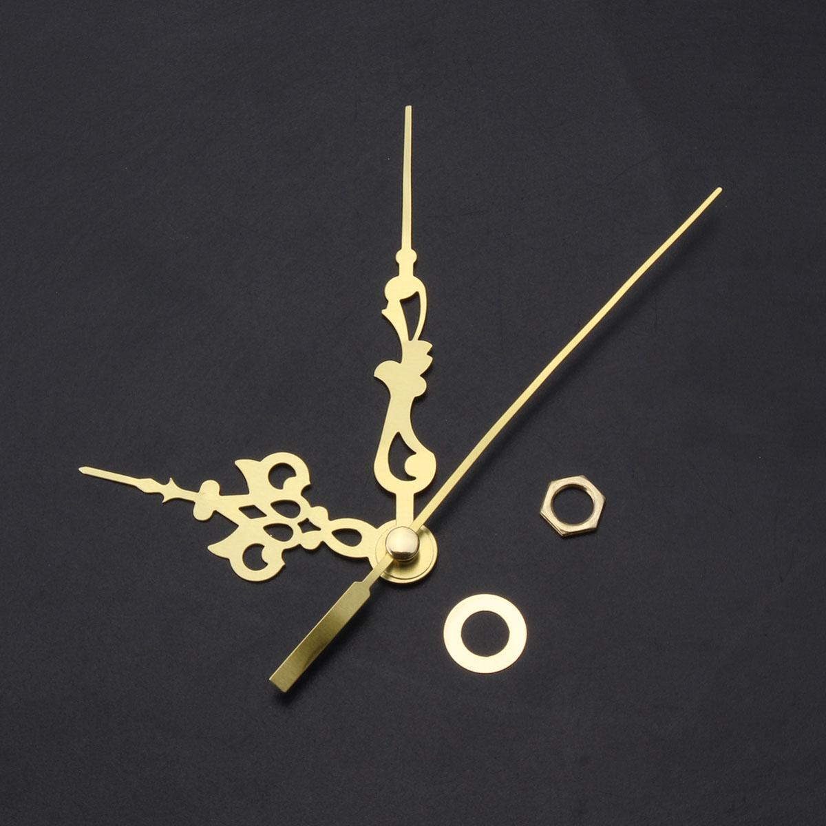 DIY Replacement Quartz Clock Movement Hands Mute Mechanism Repair Kit