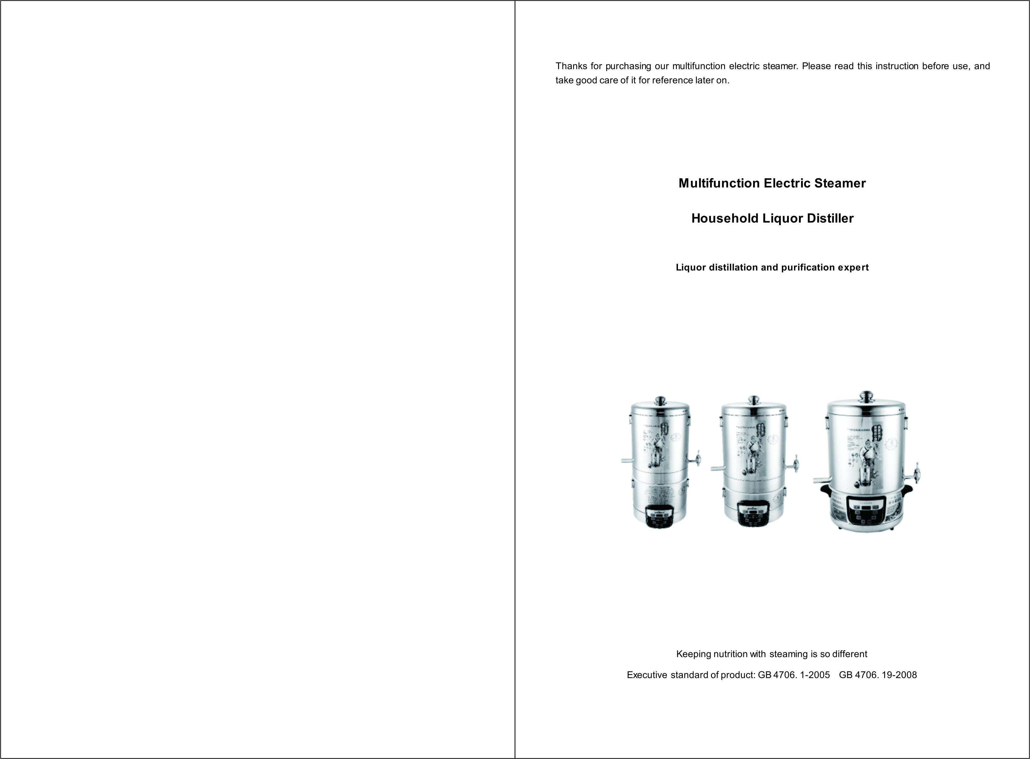 220V 4000mL Alcohol Distiller Moonshine Ethanol Copper Still 304 Stainless Boiler Home Brewing