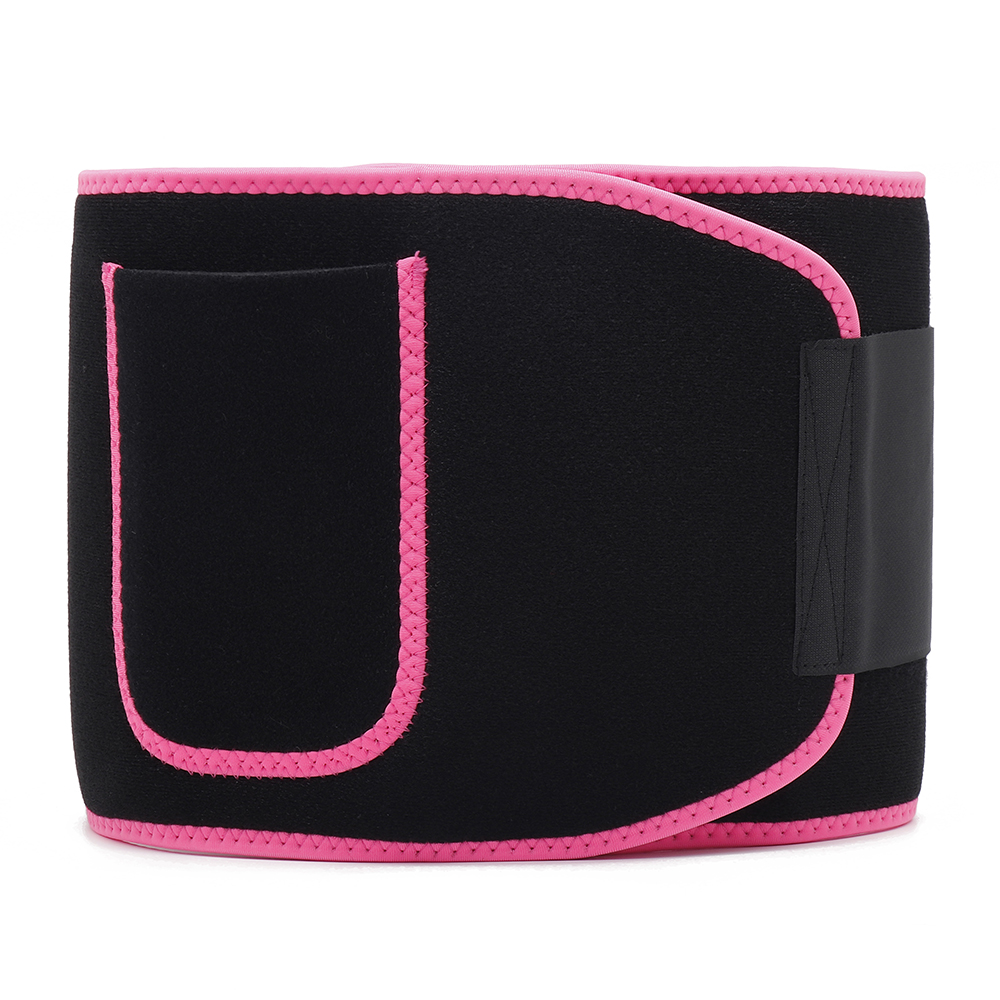 Unisex Nano Silver Coating Weight Loss Slimming Waist Belt