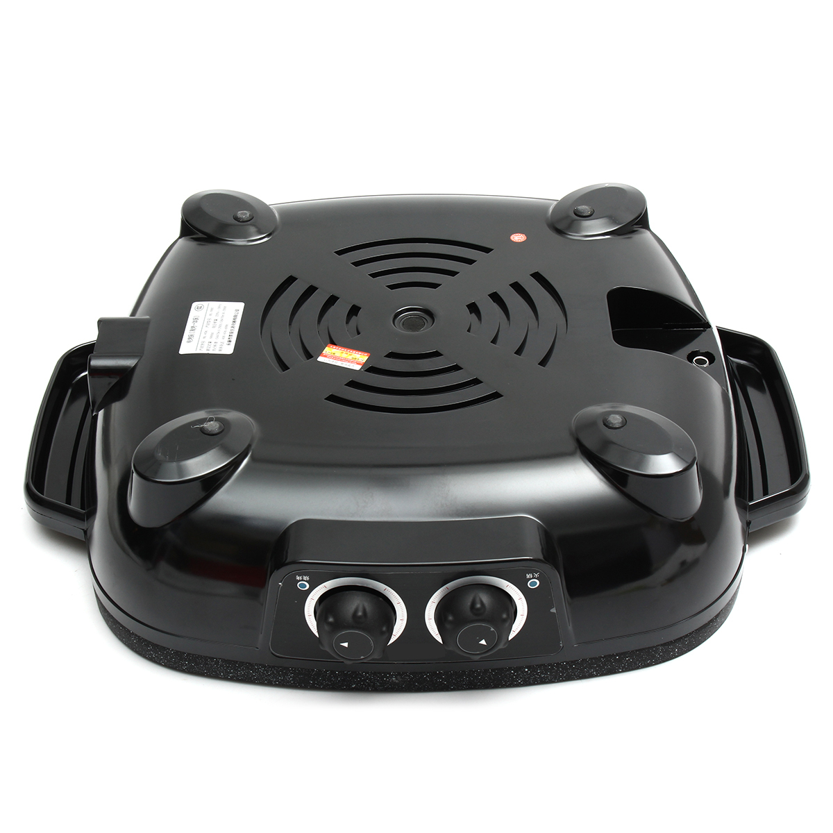 220V 1900W Electric Hot Pot Pan Oven Domestic Smokeless Nonstick Barbecue BBQ Grill