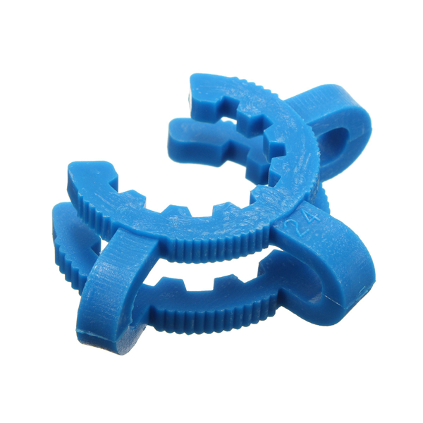 10pcs 24/40 Joint Plastic Keck Clamp Clip for Lab Glass Beakerflask Adapter