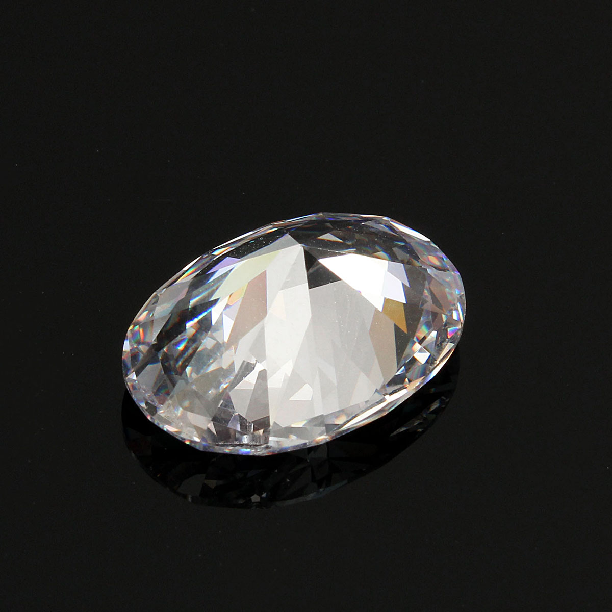 13x18mm Oval White Sapphire DIY Design Jewelry Gem Making Handmade