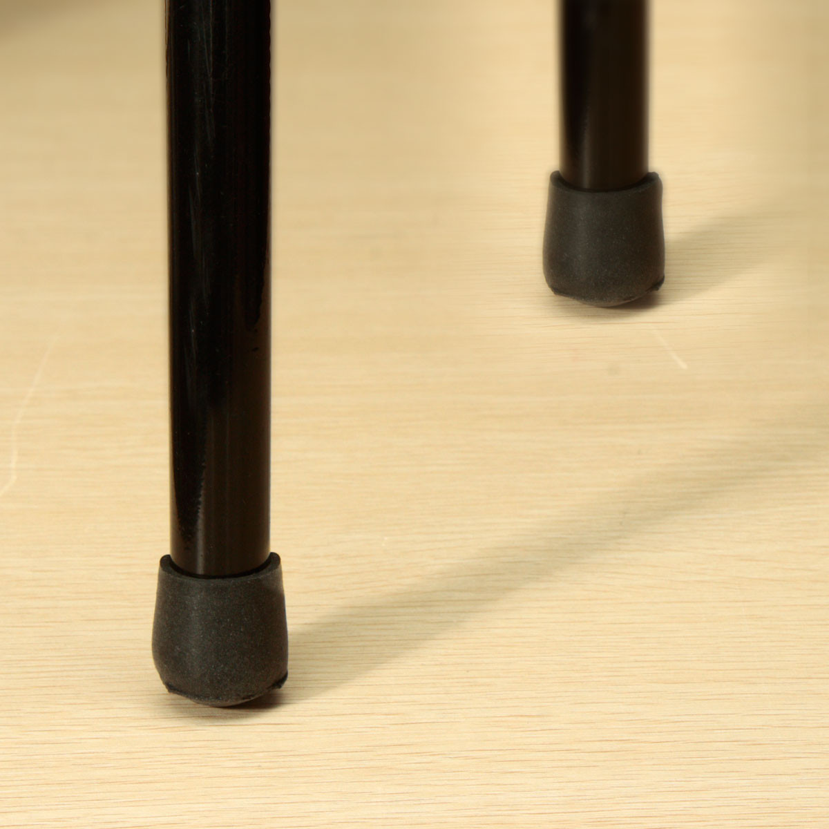 Chair Table Legs Cover Black Rubber Cap Floor Protector Anti Scratch 16/19/22/25mm