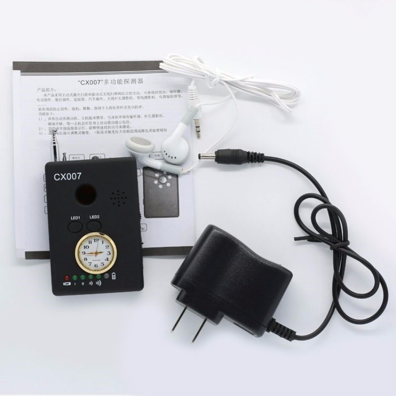 CX007 Multi Function RF Signal Camera Phone GSM GPS WiFi Bug Detector Finder With Alarm For Security