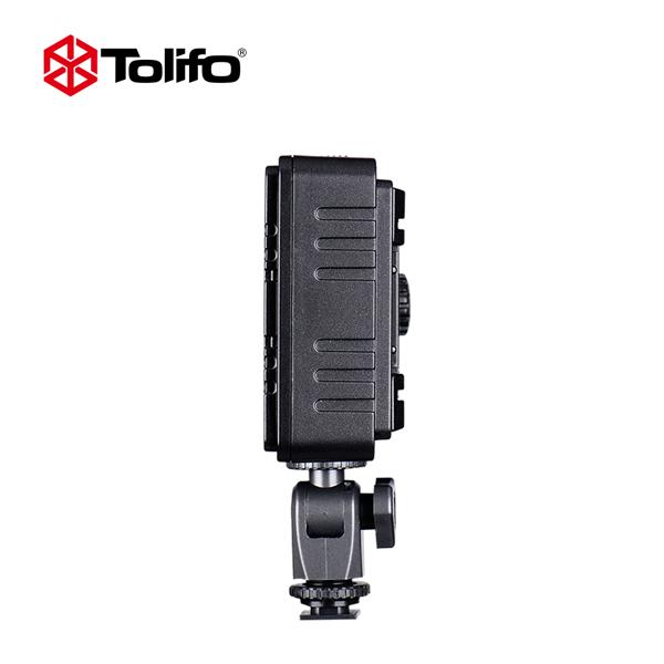 TOLIFO PT-204S Portable Dimmable Daylight LED Camera Video Light for DSLR Camera
