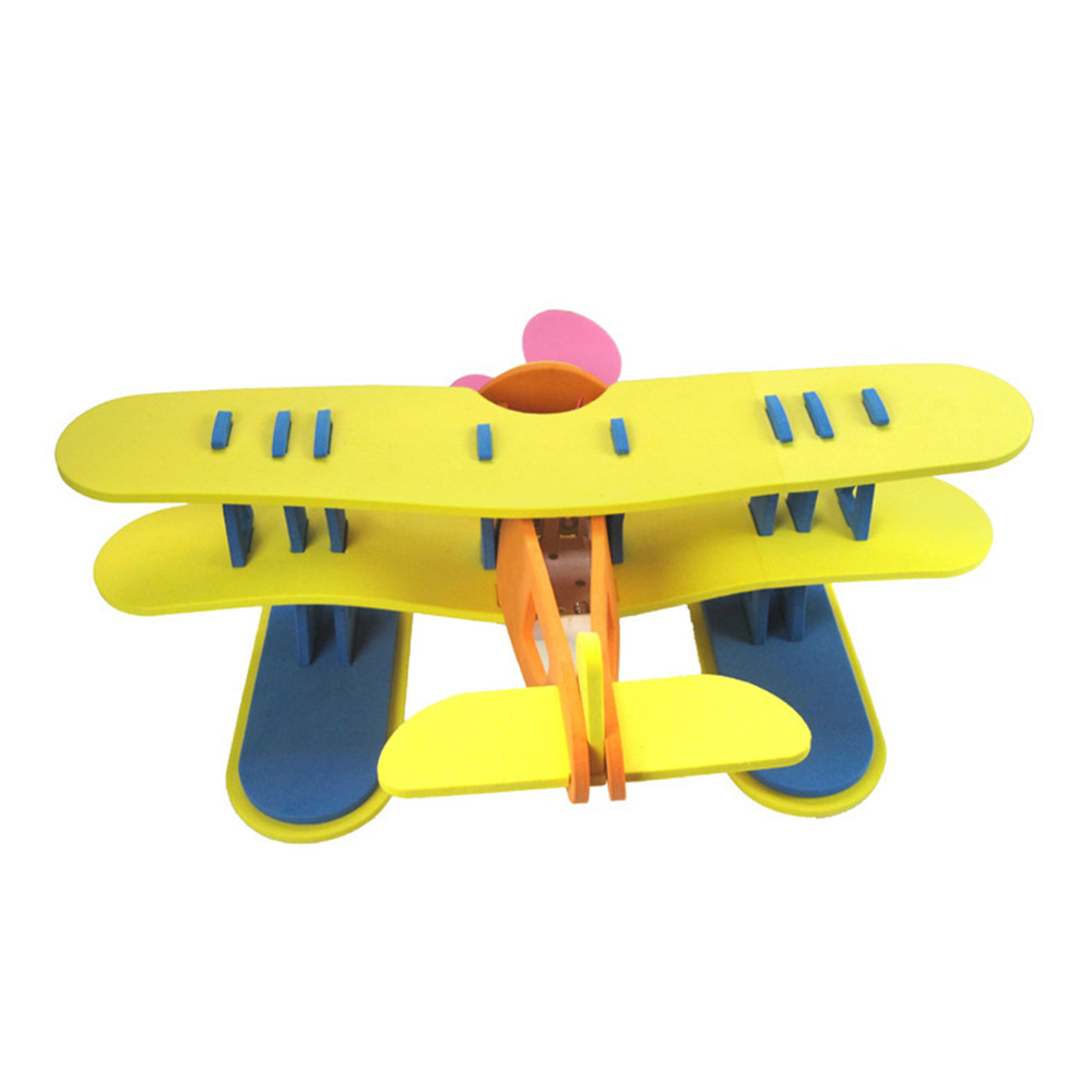 EVA Plane Toy Driving On The Water Airplane Model Motor Power Kid Funny Toy Gift