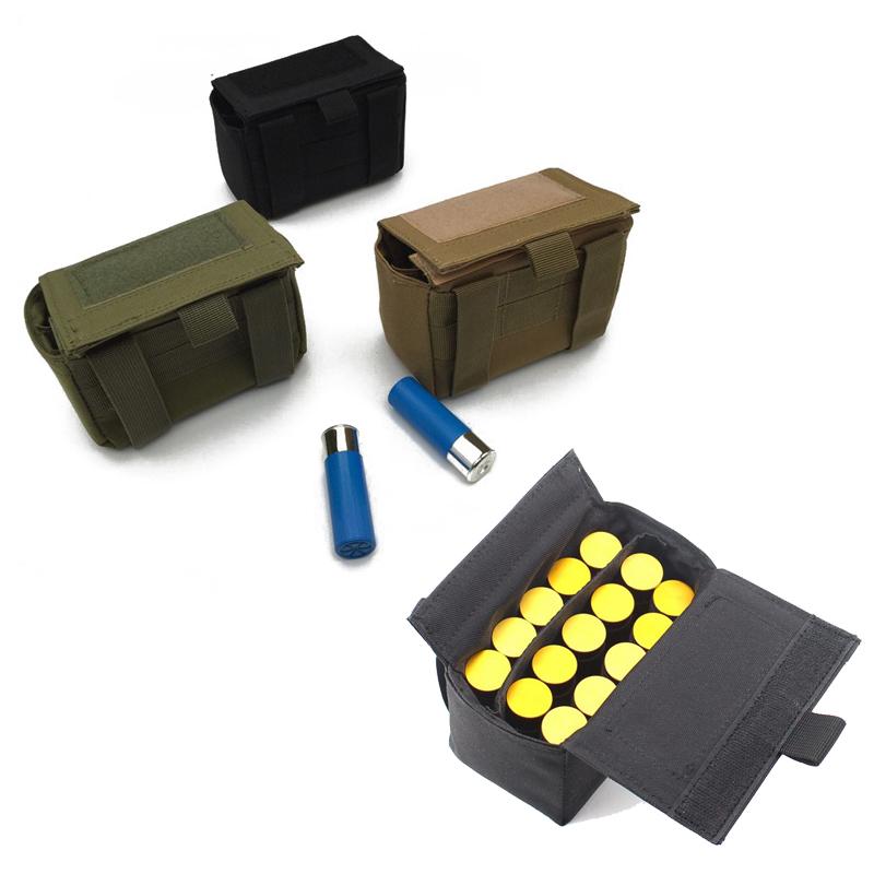 15 Rounds Shotgun Buttstock Shotshell Ammo Bullet Pouch