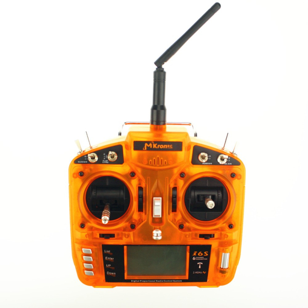MKron i6S 2.4G 6CH DSM2 Compatible Transmitter With 3 W