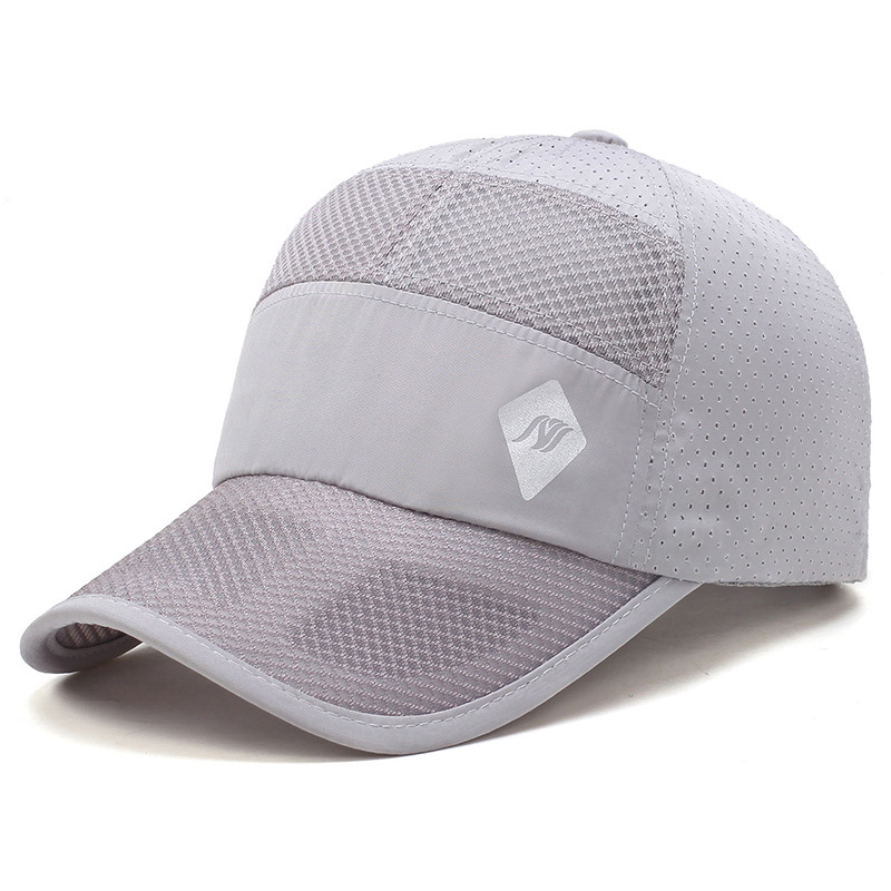 Unisex Mens Thin Breathable Quick Dry Hat Outdoor Sunshade Mesh Baseball Cap