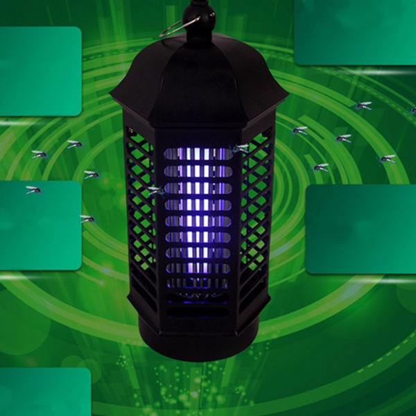 Indoor Electronic UV Mosquito Control Lamp Insect Zapper Bug Pest Killer Light