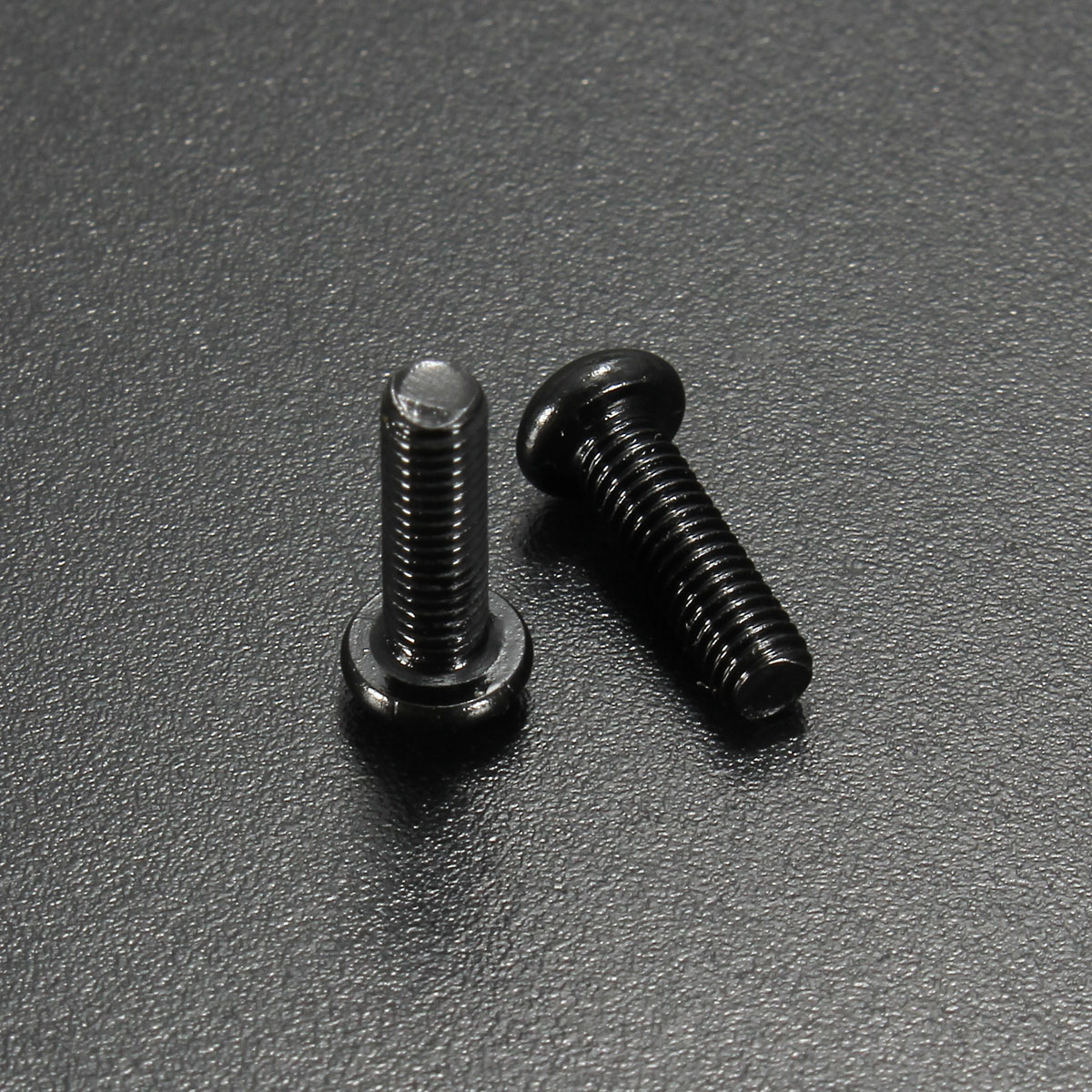 Suleve™ M3CH1 100Pcs M3 Carbon Steel Button Head Hex Socket Cap Screw Bolt Metric Allen Bolt