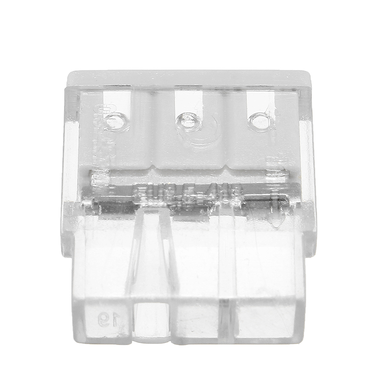 Excellway® ET01 5Pcs 3Pin Spring Terminal Block Electric Cable Wire Connector