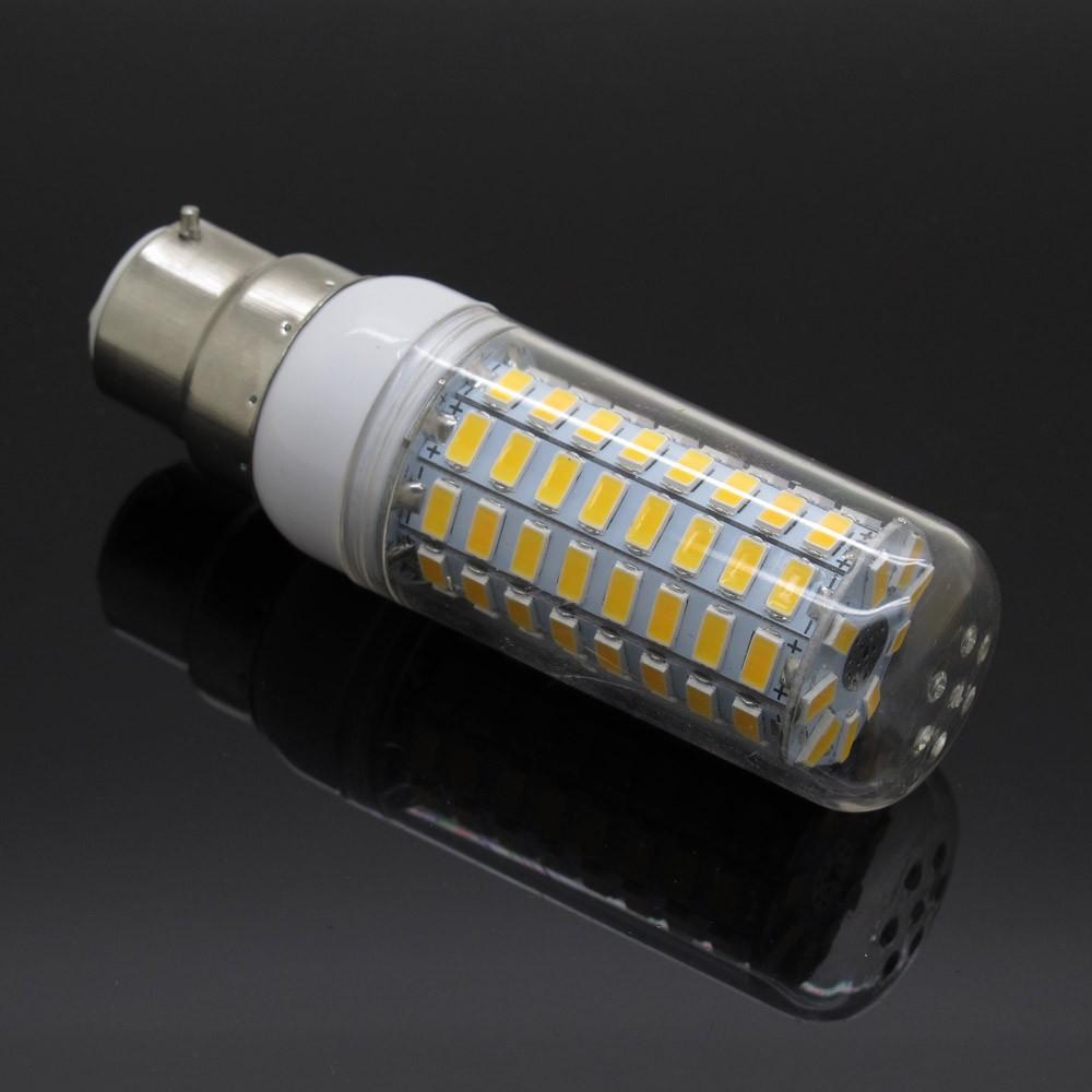 B22 5W 6W 7W 8W 10W 12W Ultra Bright SMD5730 LED Corn Bulb Lamp Chandelier Light AC110V