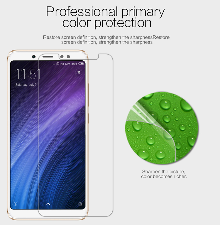 Bakeey High Definition Soft Screen Protector for Xiaomi Redmi Note 5/Redmi Note 5 Pro