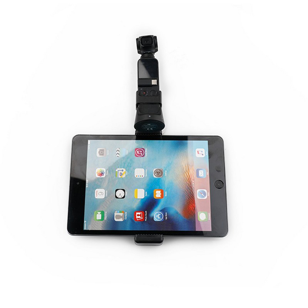 RCGEEK Phone Tablet Monitor Clamp Adapter Mount Bracket for OSMO POCKET Handheld Gimbal - Photo: 3