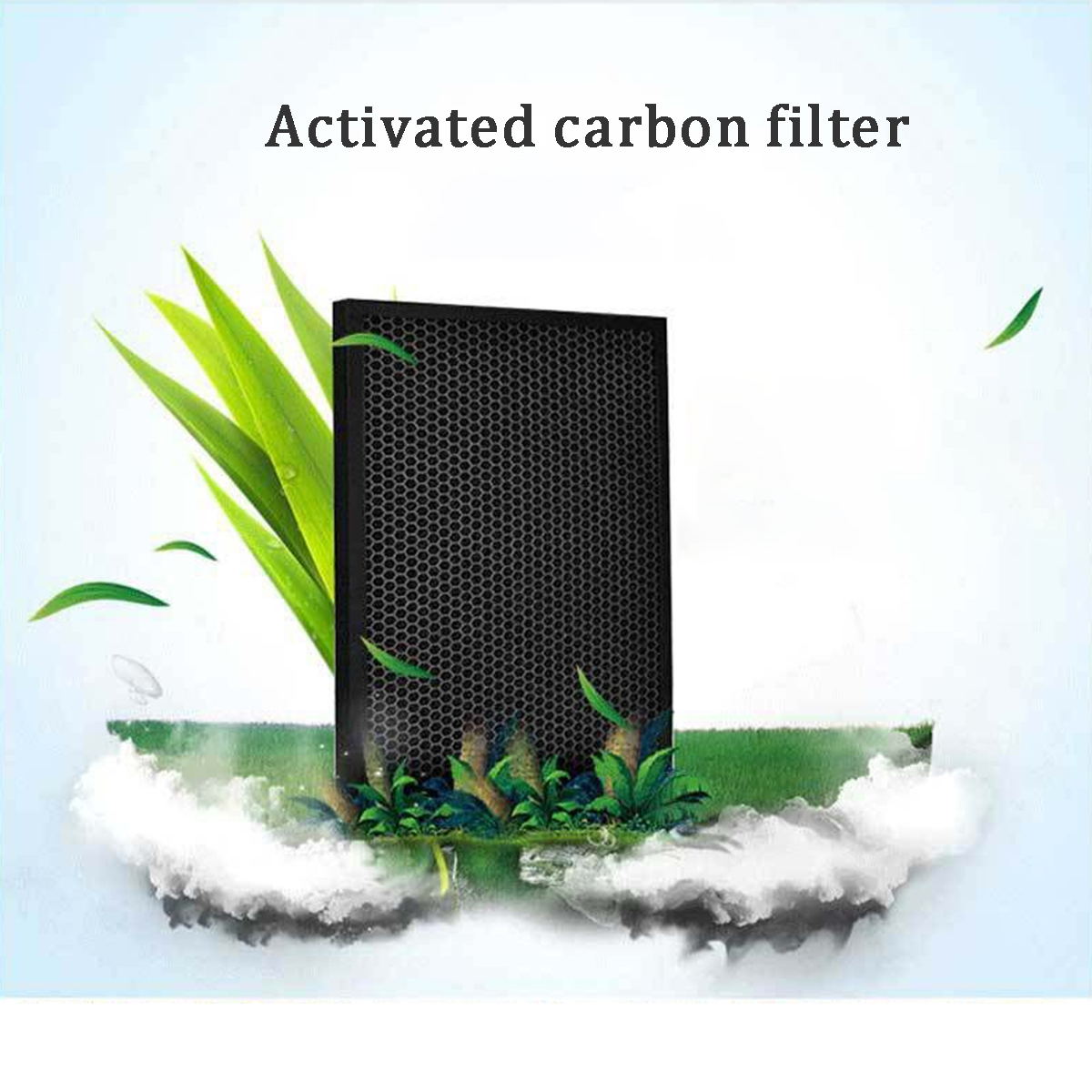 Negative Ion Air Purifier Cleaner Remote Control Timer