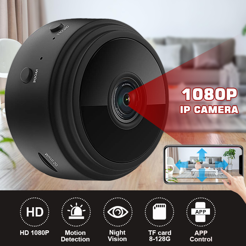 New A9 1080p Wired Wireless Security Wifi Ip Camera Baby