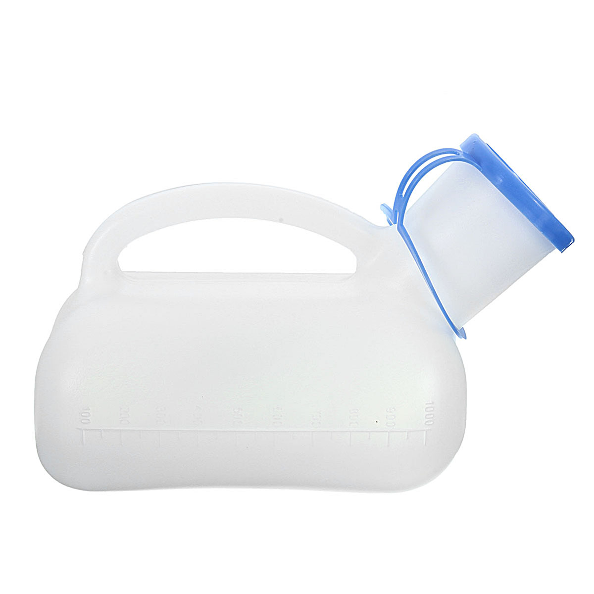 IPRee™ 1000ml Female Male Portable Mobile Urinal Mini Plastic Toilet With Cover Travel Camping