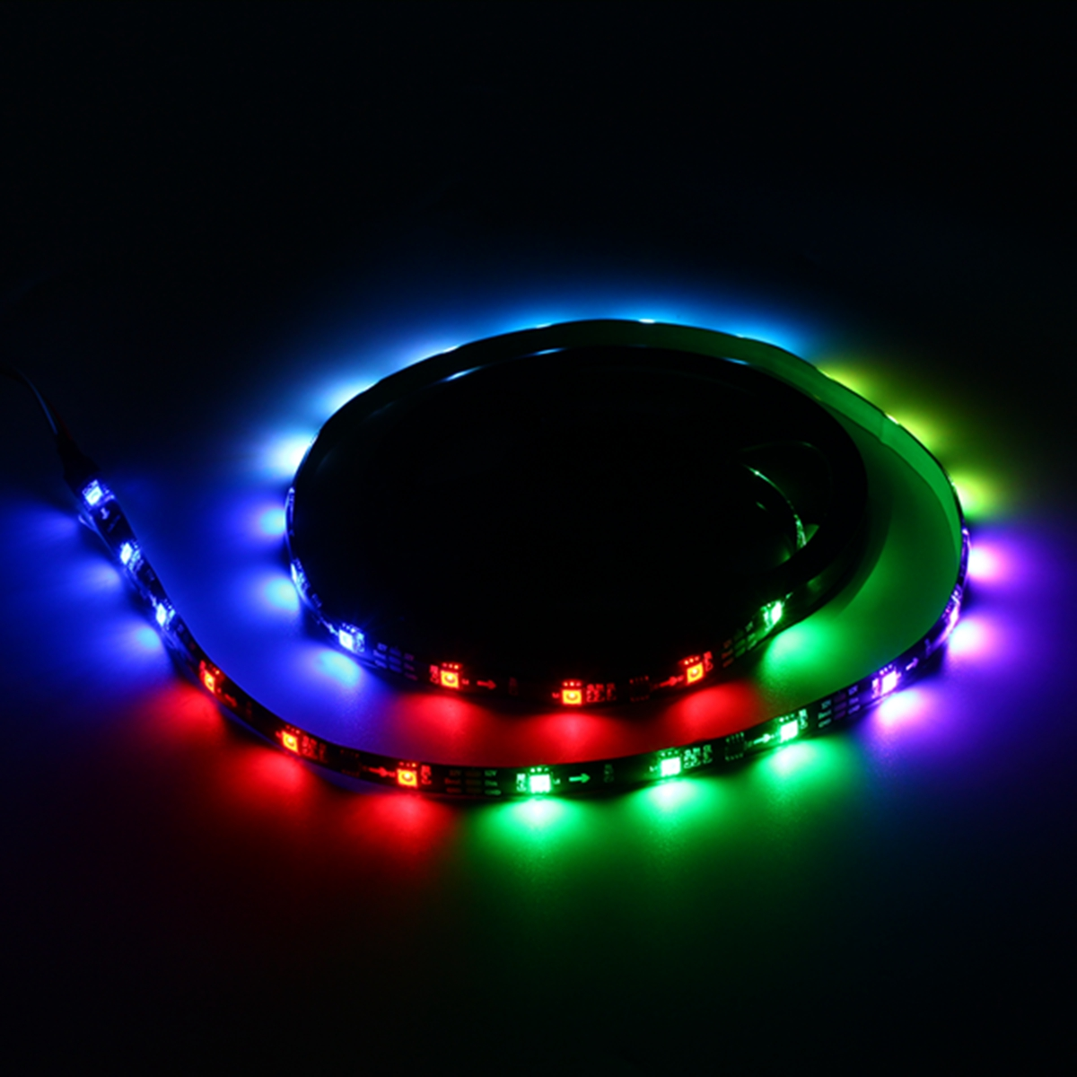 LUSTREON 1M 2M 3M 4M 5M IP65 SMD5050 IC UCS1903 Programmable Magic Color LED Strip Light DC12V