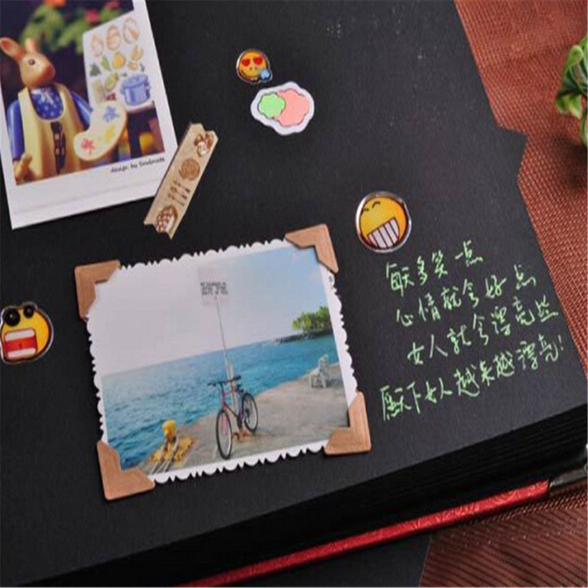 DIY Retro Photo Albums Handmade Manual Creative Couple Baby Picture Book Home Decor Gift