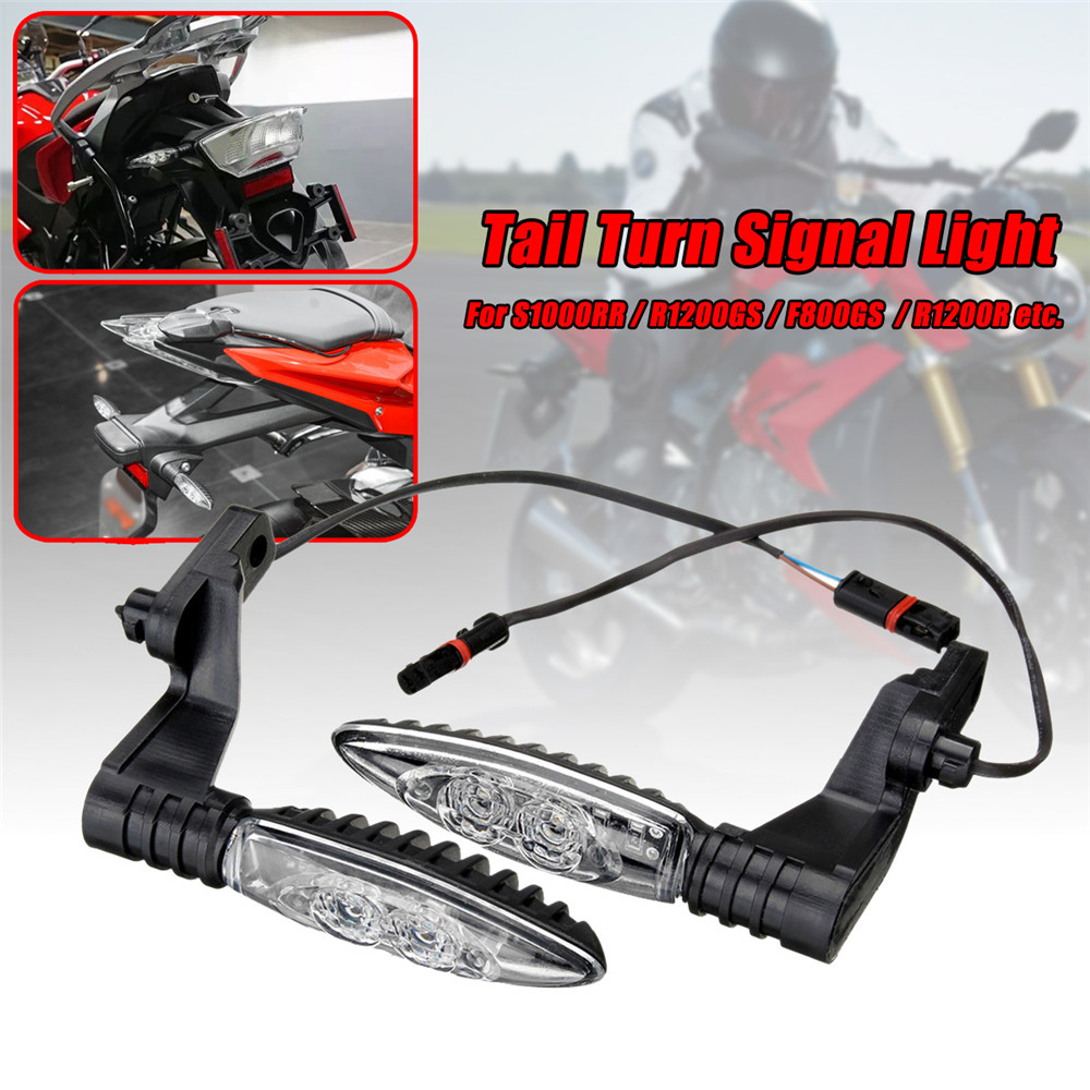 Motorcycle Rear LED Signal Indicator Turn Lights For BMW S1000RR R1200GS F800GS