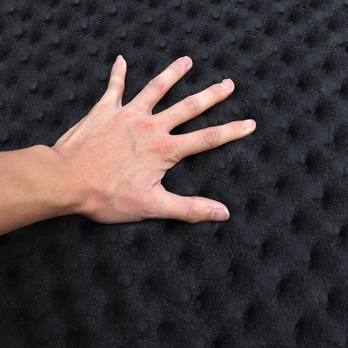 100x100cm Car SoundProof Closed Cell Foam Self Adhesive Acoustic Foam Thermal Insulation Waterproof