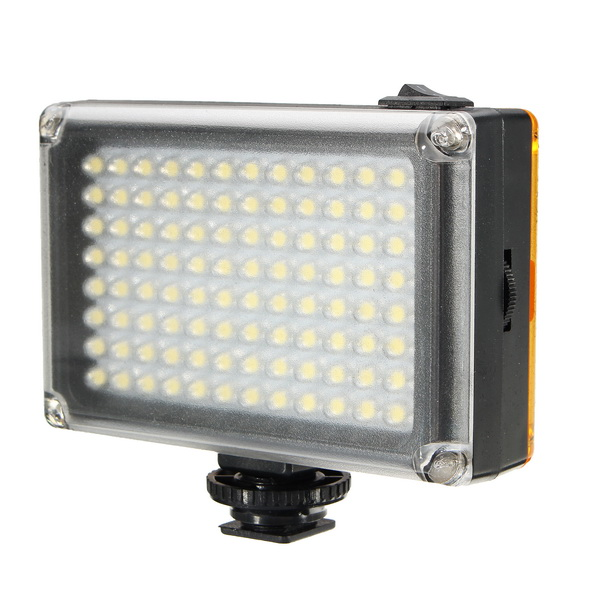Ulanzi 96LED LED Video Light Photo Studio On-camera Light with Hot shoe