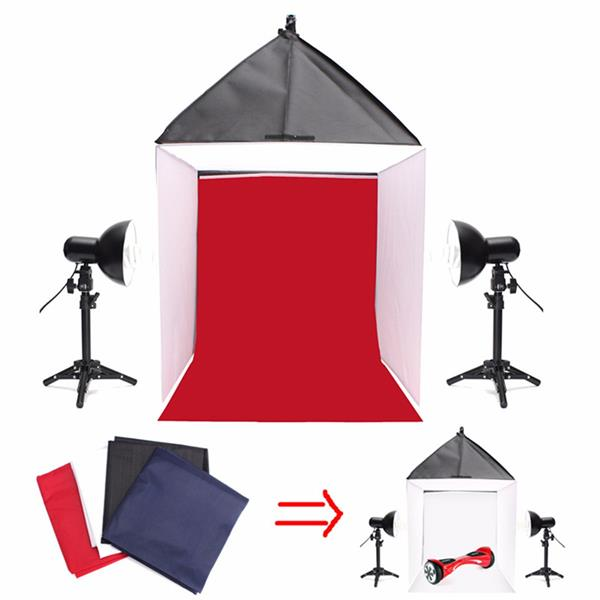 24 inch 60x60x60cm Camera Photo Photography Studio Softbox Shooting Box Light Tent Kit