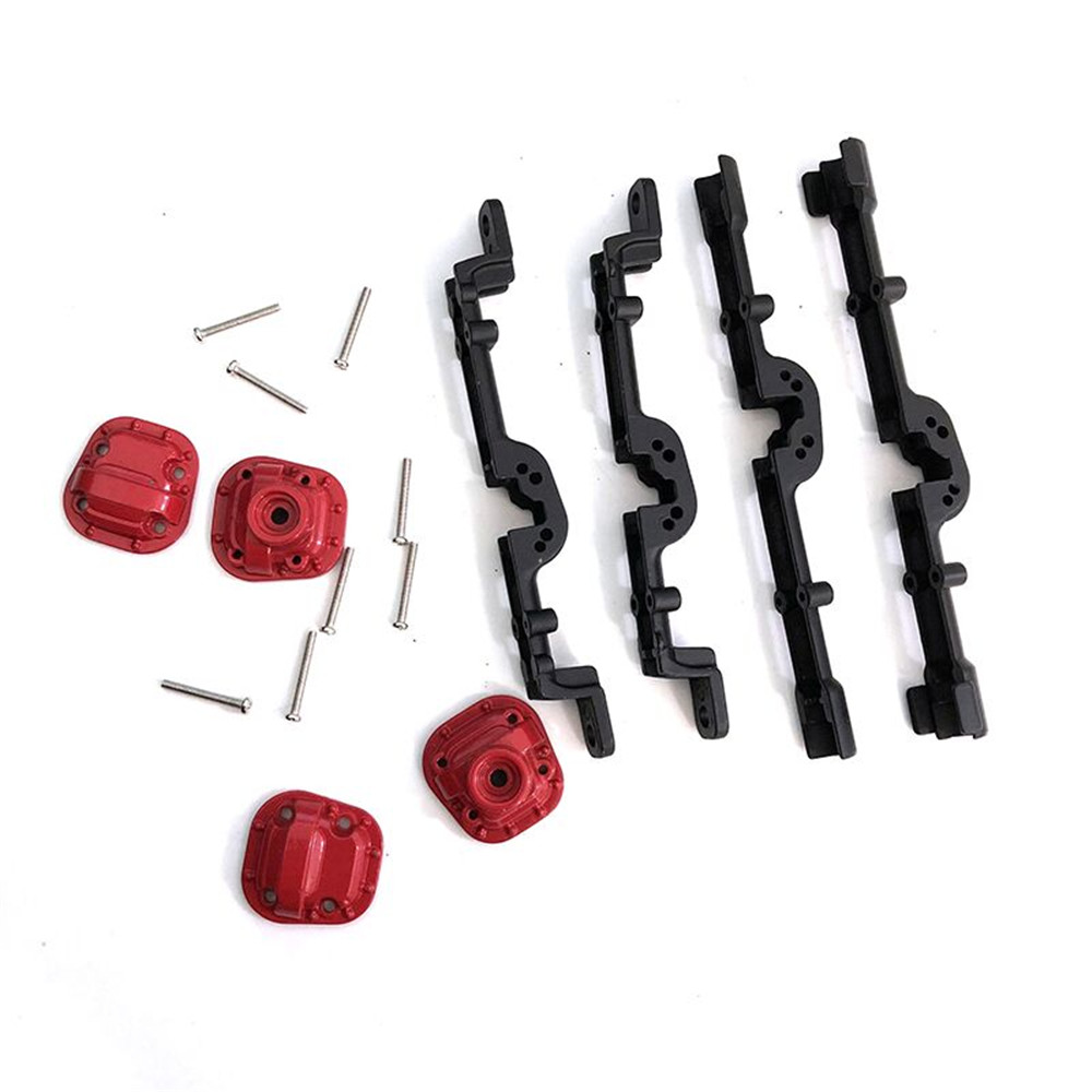1 Set MN90 MN45 MN96 MN99 1/12 Upgraded Metal Front Rear Axle Housing Rc Car Spare Parts - Photo: 4