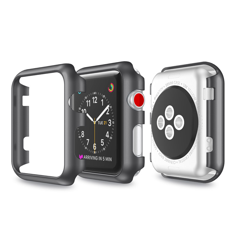 38mm Multi-color Plating PC Watch Protective Case Watch Cover For Apple Watch 2