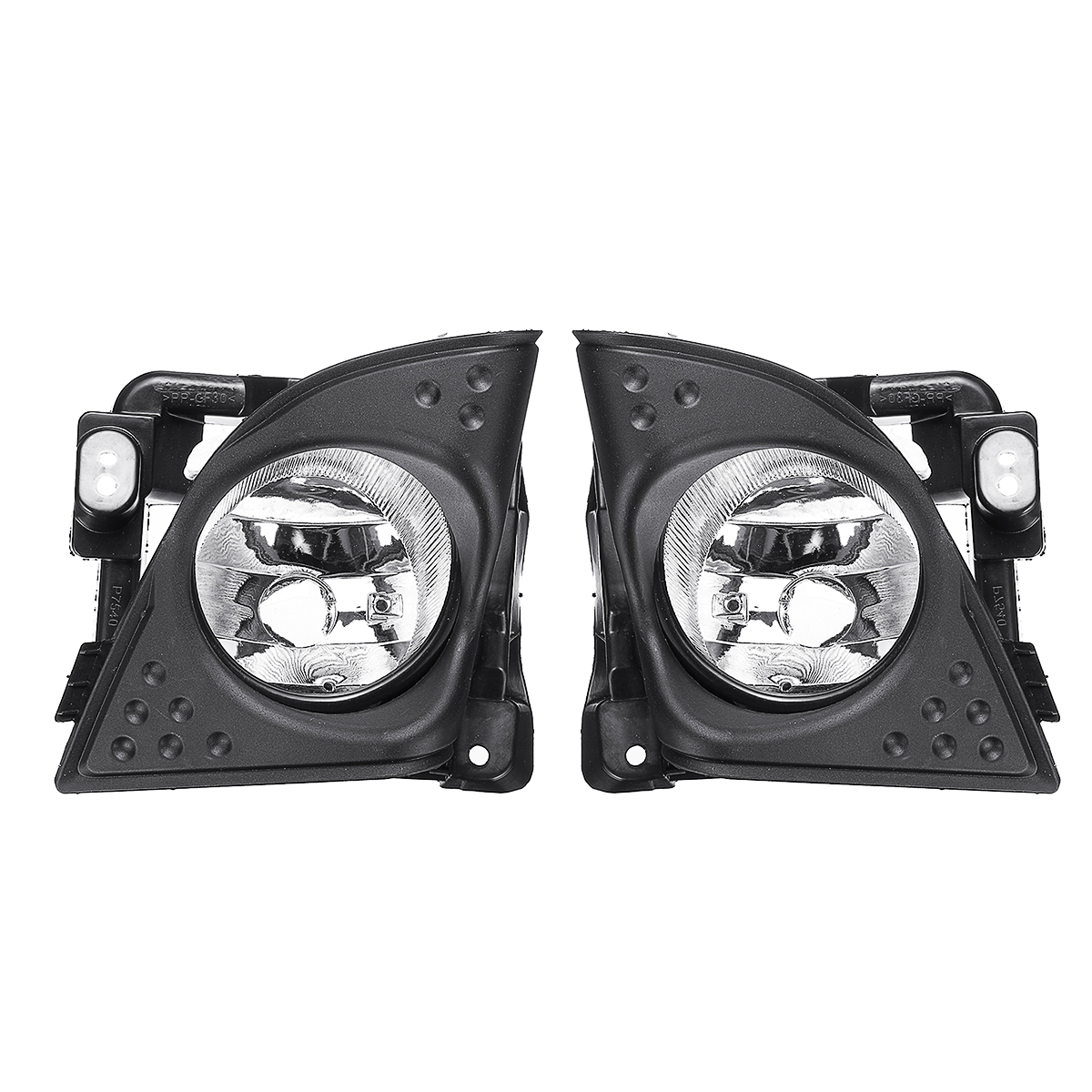 Car Left/Right Fog Light Cover Bezel Trim Without Bulb For