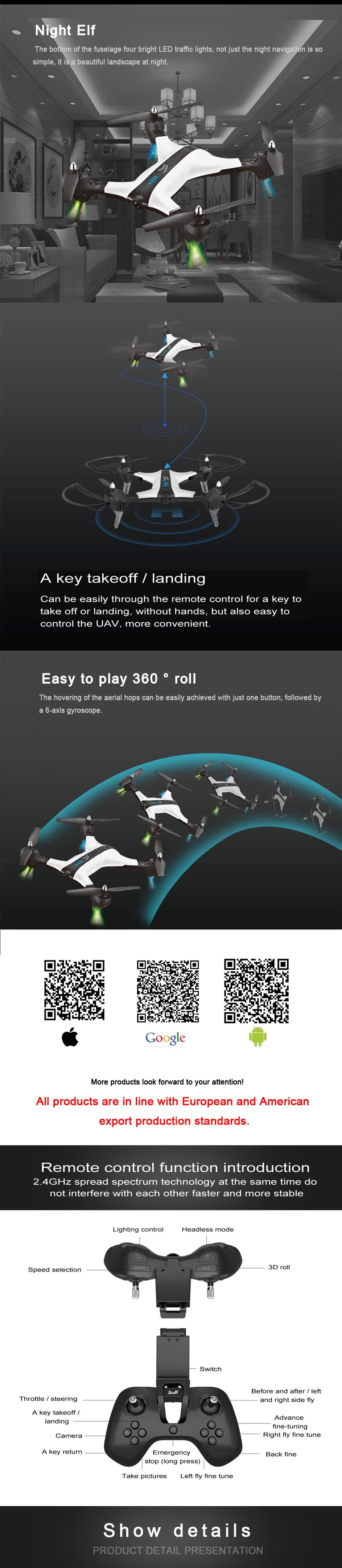 XIANGYU XY017HW WIFI FPV With 2MP Wide Angle Camera High Hold Mode Foldable Arm RC Drone Quadcopter