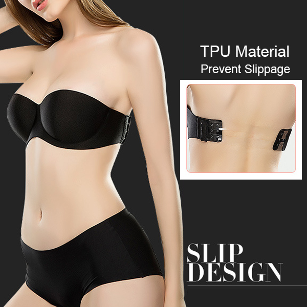 Strap Free Seamless Backless Invisible Bra