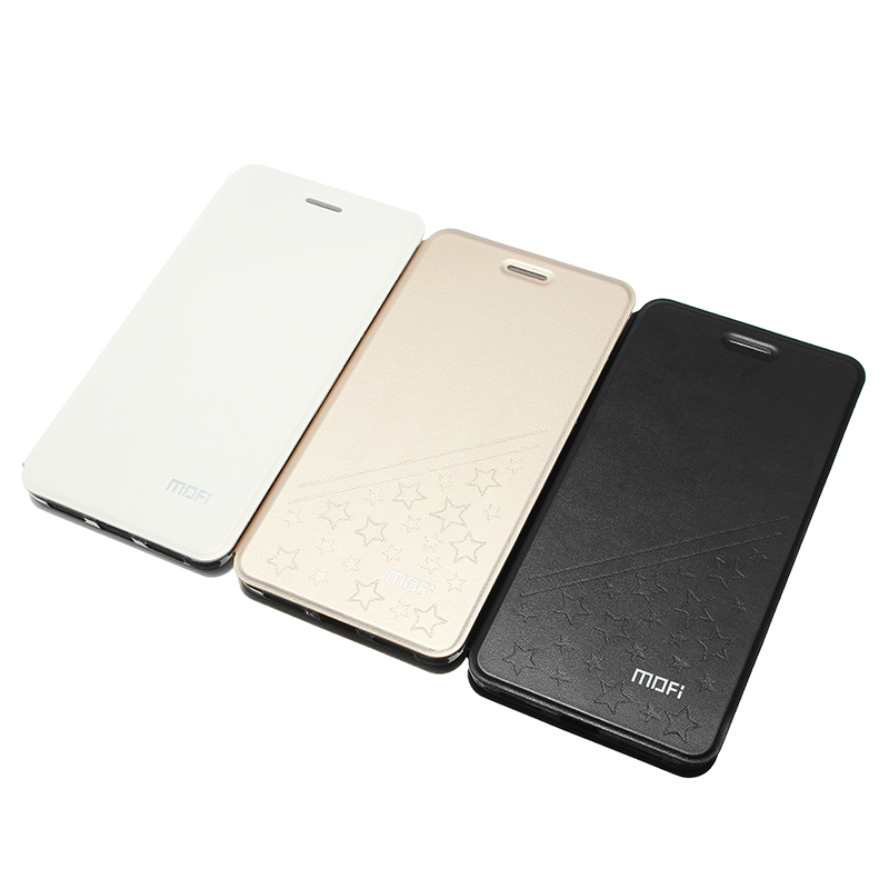 MOFI Flip PU Leather Protective Case With Smart Sleep Stand Case for Xiaomi Redmi Note 4X