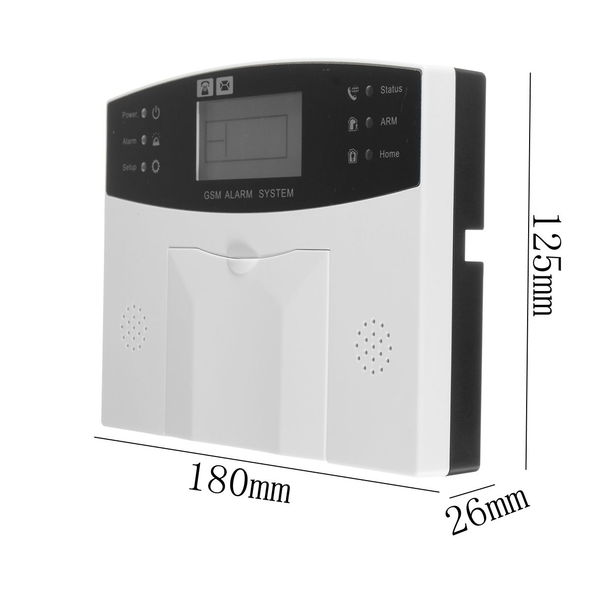LCD Security Wireless GSM Auto Dial Home House Burglar Intruder Alarm System