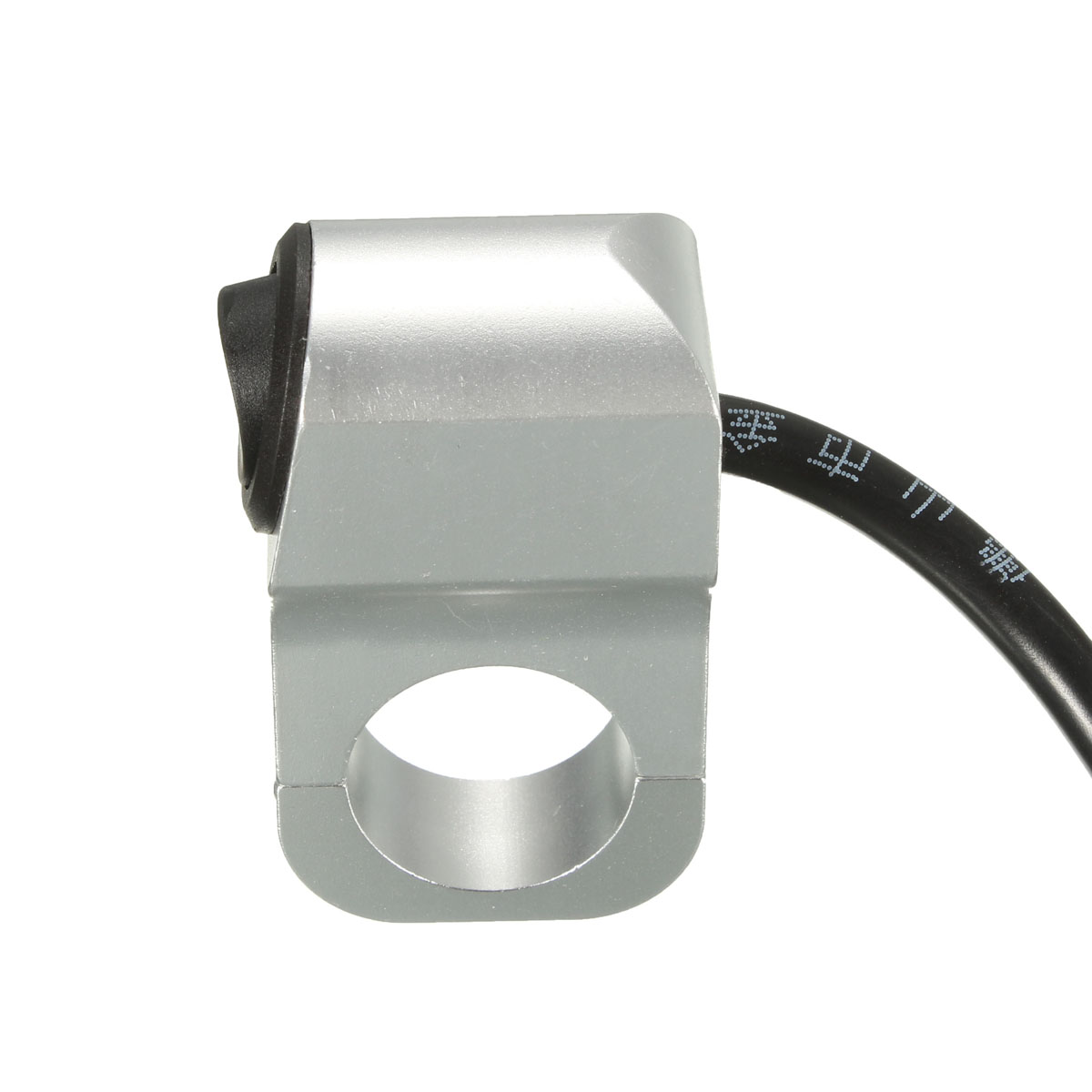 12V 10A Motorcycle CNC Handlebar Headlight On Off Switch Without Pilot Lamp