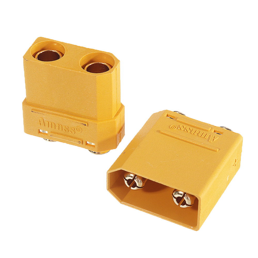 1Pair Amass XT90PB Plug Connector Adapter Plug for RC Model Lipo Battery - Photo: 3