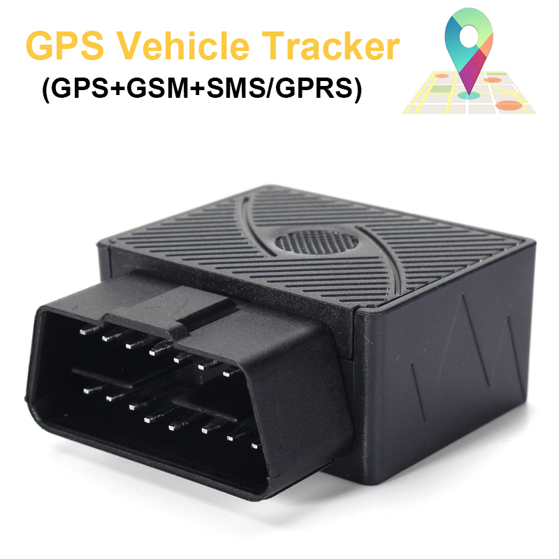 16 PIN OBD Real Time Car Vehicle GSM GPRS GPS Tracker Locator Tracking Device