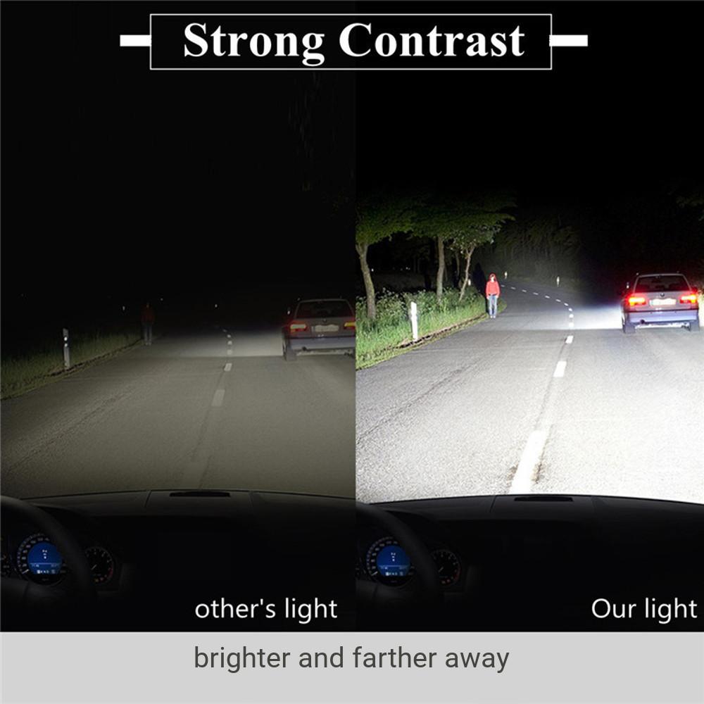60W 7200LM COB LED Car Headlights Fog Lamp H1 H3 H4 H7 H11 H13 9005 9006 9007 9012 6000K White