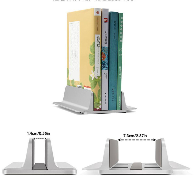Vertical Laptop Stand Desktop Space Saving Stand Holder for MacBook Pro Notebook